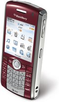 RIM BLACKBERRY PEARL 8110 RED TOP ANGLE