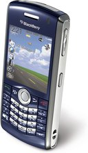 RIM BLACKBERRY PEARL 8120 BLUE TOP ANGLE