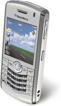 RIM BLACKBERRY PEARL 8130 SILVER TOP ANGLE