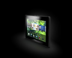 RIM BLACKBERRY PLAYBOOK ANGLE 2 BLACK