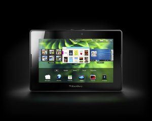 RIM BLACKBERRY PLAYBOOK FRONT BLACK