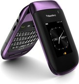 RIM BLACKBERRY STYLE 9670 LEFT ANGLE PARTIAL PURPLE