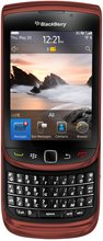 RIM BLACKBERRY TORCH 9800 RED ENG GEN FRONTNOSHADOW