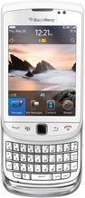 RIM BLACKBERRY TORCH 9800 WHITE ENG GEN FRONTNOSHADOW