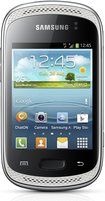 samsung galaxy music silver front