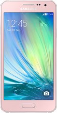 SAMSUNG GALAXY A3 001 FRONT PINK