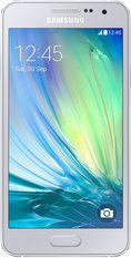 SAMSUNG GALAXY A3 001 FRONT SILVER