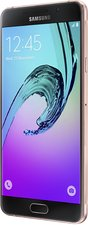 SAMSUNG GALAXY A7 2016 PINK GOLD 04 STANDARD FRONT RIGHT ORIGIN