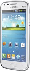 SAMSUNG GALAXY CORE FRONT LEFT WHITE