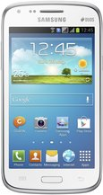 SAMSUNG GALAXY CORE FRONT WHITE