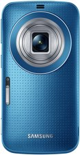 SAMSUNG GALAXY K ZOOM ELECTRIC BLUE 02 LENS OPEN