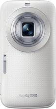 SAMSUNG GALAXY K ZOOM SHIMMERY WHITE 02 LENS OPEN
