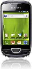 SAMSUNG GALAXY MINI GREY FRONT 1