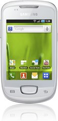 SAMSUNG GALAXY MINI WHITE FRONT