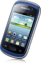 SAMSUNG GALAXY MUSIC FRONT ANGLE BLUE