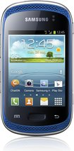 samsung galaxy music music front blue