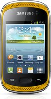 samsung galaxy music yellow front