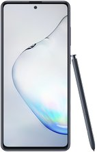 samsung galaxy note10 lite 16 aura black front with pen