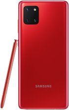 samsung galaxy note10 lite 27 aura red back with pen