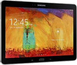 SAMSUNG GALAXY NOTE 10.1 2014 005 L PERSPECTIVE BLACK