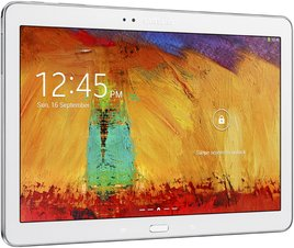 SAMSUNG GALAXY NOTE 10.1 2014 005 L PERSPECTIVE WHITE