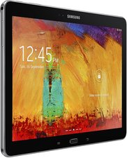 SAMSUNG GALAXY NOTE 10.1 2014 009 L PERSPECTIVE BLACK