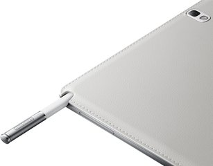 SAMSUNG GALAXY NOTE 10.1 2014 018 PEN DETAIL WHITE