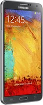 SAMSUNG GALAXY NOTE 3 005 RIGHT PERSPECTIVE JET BLACK