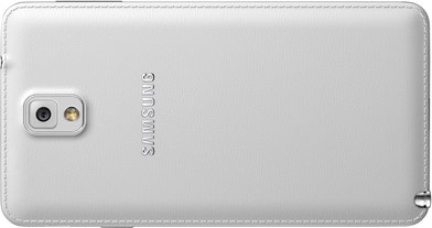 SAMSUNG GALAXY NOTE 3 011 BACK LANDSCAPE CLASSIC WHITE