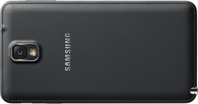 SAMSUNG GALAXY NOTE 3 011 BACK LANDSCAPE JET BLACK