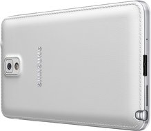 SAMSUNG GALAXY NOTE 3 013 BACK RIGHT PERSPECTIVE CLASSIC WHITE