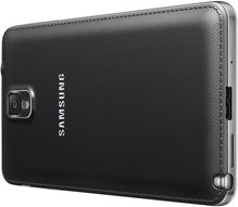samsung galaxy note 3 013 back right perspective jet black