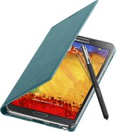 SAMSUNG GALAXY NOTE 3 FLIPCOVER 004 OPEN PEN MINT BLUE