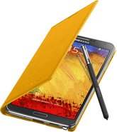 SAMSUNG GALAXY NOTE 3 FLIPCOVER 004 OPEN PEN MUSTARD YELLOW