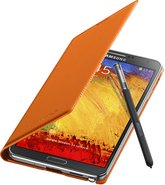 samsung galaxy note 3 flipcover 004 open pen wild orange