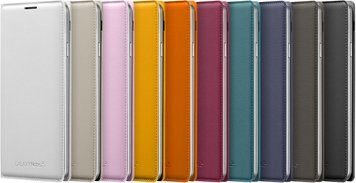 SAMSUNG GALAXY NOTE 3 FLIPCOVER 005 FRONT SET