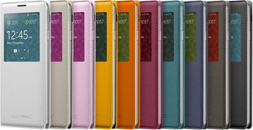SAMSUNG GALAXY NOTE 3 S VIEW COVER 005 FRONT SET