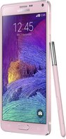 SAMSUNG GALAXY NOTE 4 BLOSSOM PINK LEFT-45- DEGREE-PEN 011