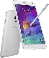 SAMSUNG GALAXY NOTE 4 FROST WHITE COMBINATION-PEN 018