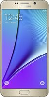 SAMSUNG GALAXY NOTE 5 FRONT GOLD PLATINUM