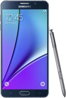 SAMSUNG GALAXY NOTE 5 FRONT WITH SPEN BLACK SAPPHIRE