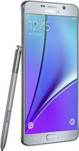 SAMSUNG GALAXY NOTE 5 LEFT WITH SPEN SILVER TITANIUM