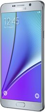 SAMSUNG GALAXY NOTE 5 RIGHT SILVER TITANIUM
