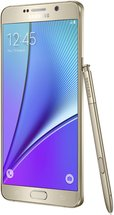 SAMSUNG GALAXY NOTE 5 RIGHT WITH SPEN GOLD PLATINUM