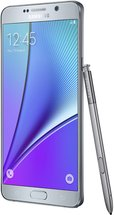SAMSUNG GALAXY NOTE 5 RIGHT WITH SPEN SILVER TITANIUM