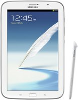 SAMSUNG GALAXY NOTE 8.0 FRONT WITH SPEN CREAM WHITE