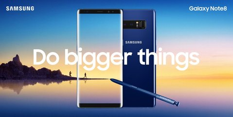 samsung galaxy note 8 blue ooh h hq
