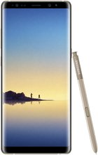 samsung galaxy note 8 front pen gold hq