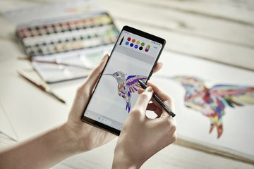 SAMSUNG GALAXY NOTE 8 S PEN COLORING