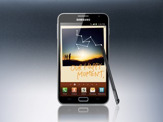 SAMSUNG GALAXY NOTE FRONT
